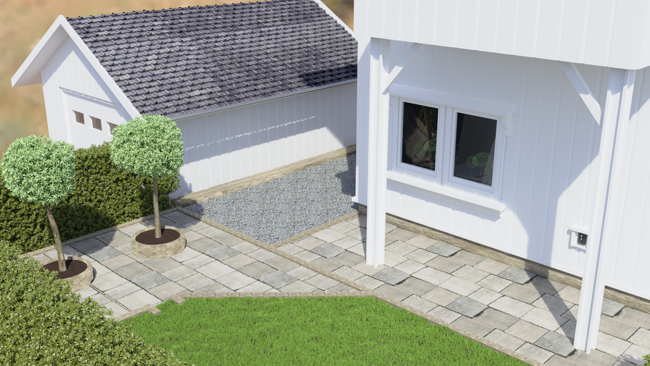 First Realistic Render