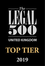 DJB rise up the London tables in the Legal 500 2018