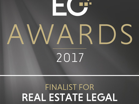 DJB Named as a Finalist for Real Estate Legal Team of the Year Award
