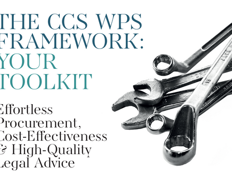 The CCS WPS Framework: Your Toolkit