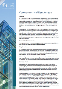 Commercial Lease Case Law