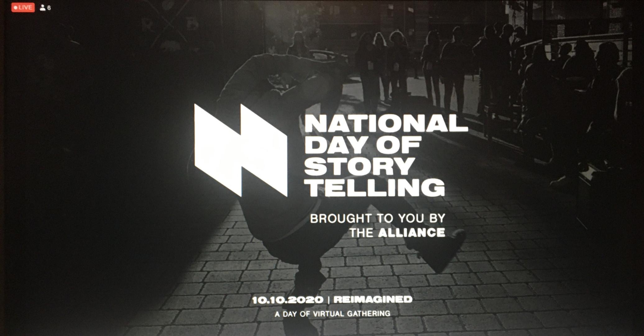 National Day of Storytelling