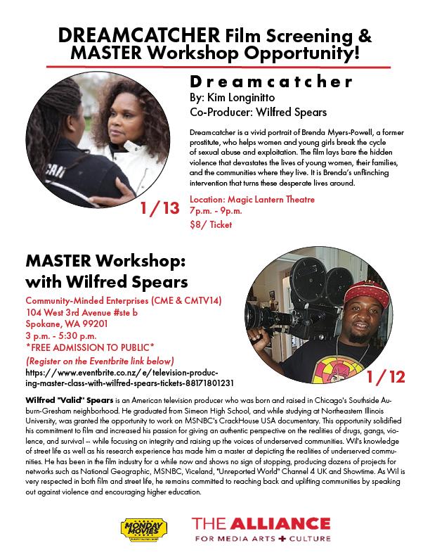 Dreamcatcher film flyer