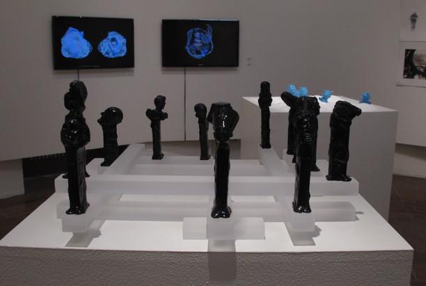 (Black Pez Dispensers), By: Aziz Jamal