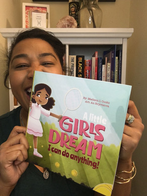 BOOK REVIEW: A Little Girls Dream, I Can Do Anything by Madison L Cooks