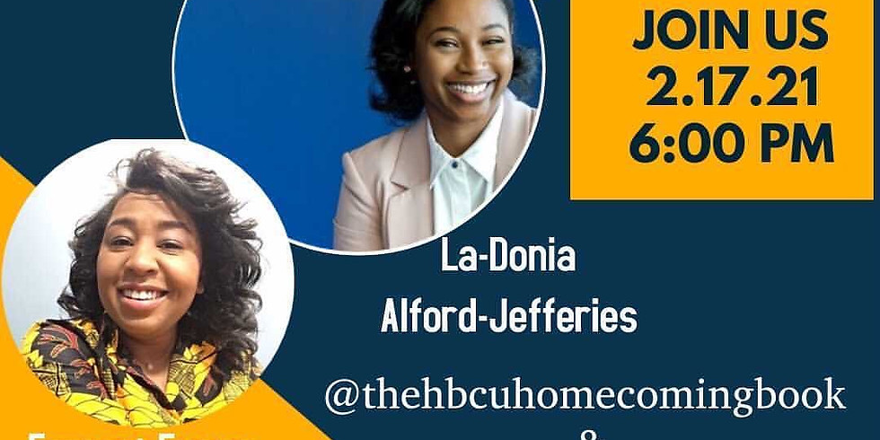 Author Interview, with La-Donia Alford-Jefferies