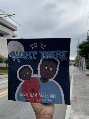 BOOK REVIEW: I'll Be Right There by Jonathan Marshall
