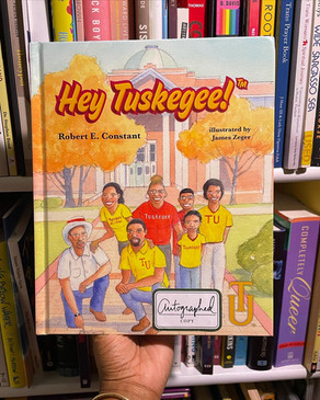 BOOK REVIEW: Hey Tuskegee by Robert Constant
