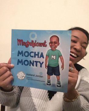 BOOK REVIEW: Magnificent Mocha Monty by Holland Jordan