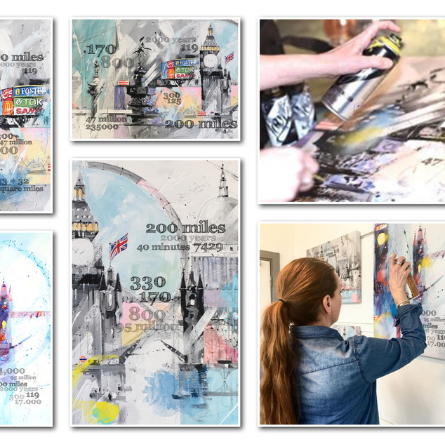 London in numbers collection