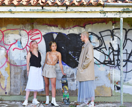 Local fashion concept shoot