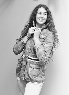 Carolina Sursock fashion shoot