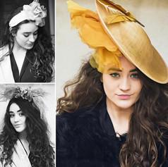 Fashion shoot in Barnes for Anne Gretton