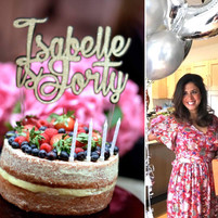 40th Flower Themed Birthday Party