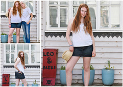 Local charity fashion shoot