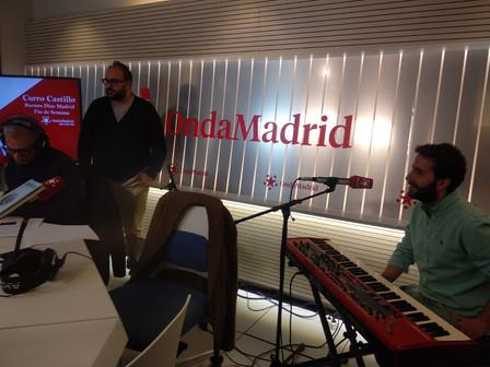Chico Pérez en Onda Madrid