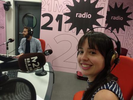 Chico Pérez en Radio M21