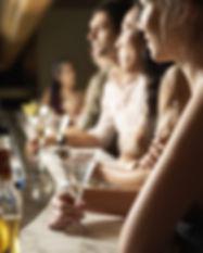 Martinis an der Bar