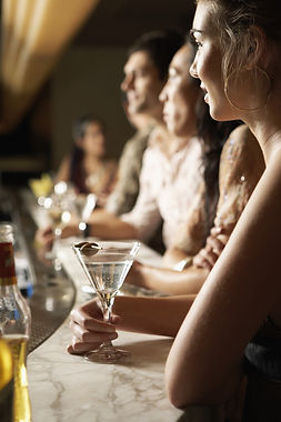 Martinis on the Bar