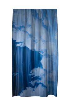 Nuvole barocche. Le dita sotto i piedi Tessuto flag 180 x 290 cm 2018