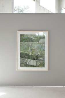 Maps No.805 as part of the series: maps C-Print mounted and framed 144 x 114 cm 2017