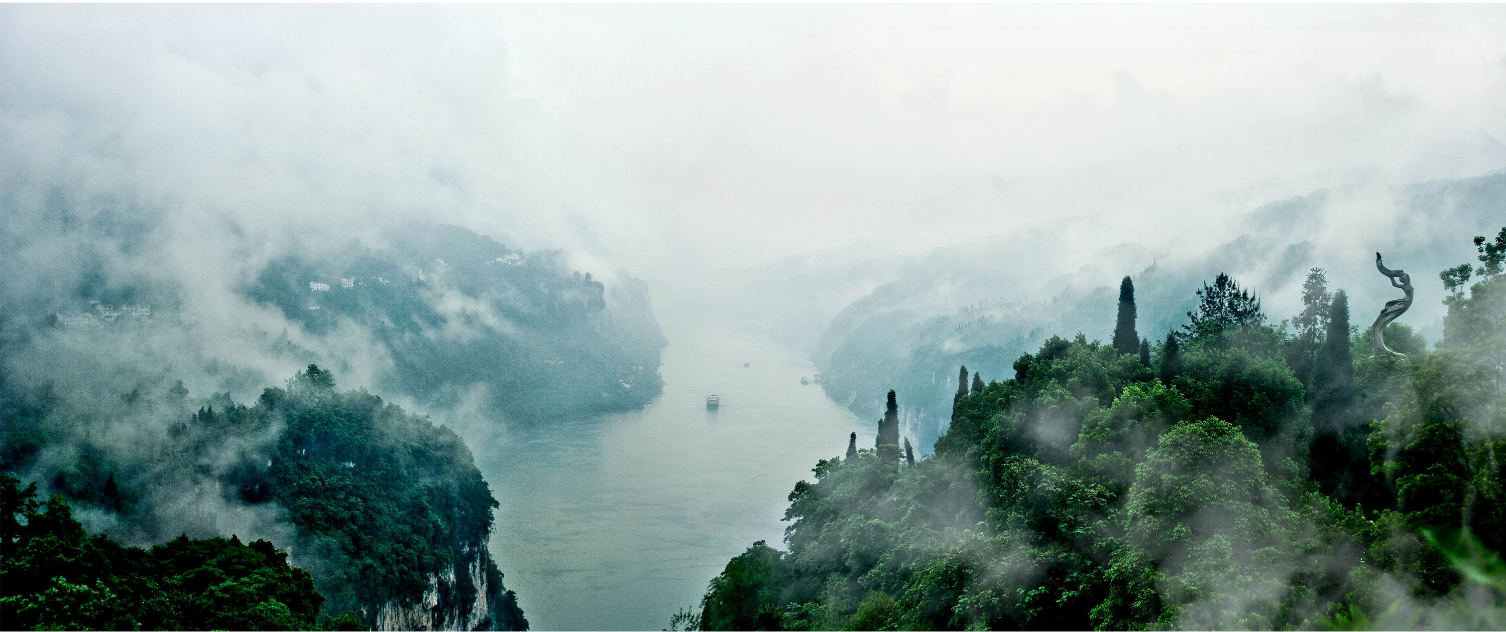 Misty Yangtze & Gorge