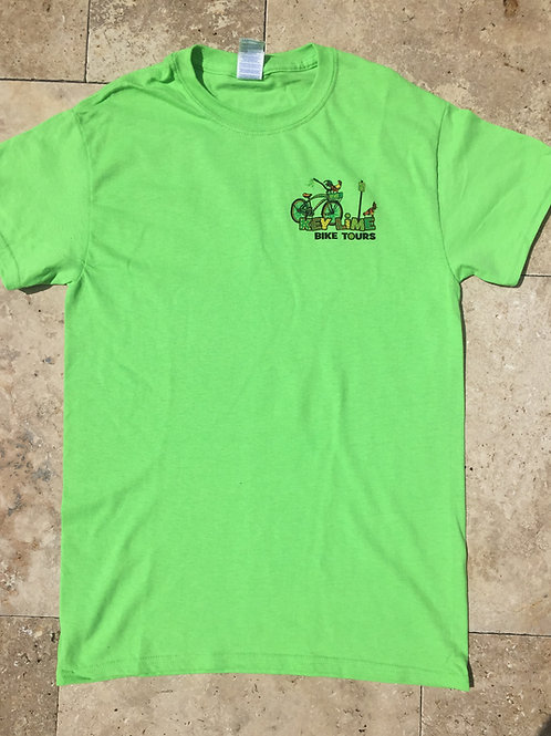 Green Key Lime Bike Tour T-Shirt
