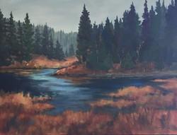 McLean Pond, Bragg Creek