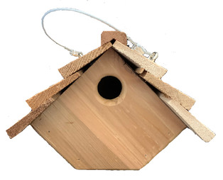 Diamond Bird House