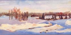 Winter Studio View