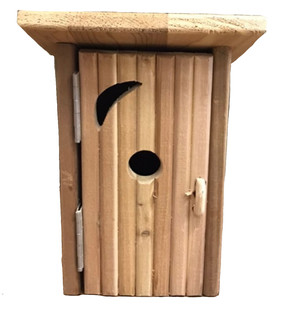 Outhouse Bluebird House