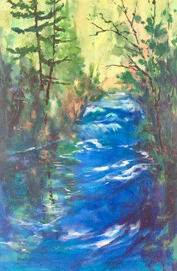 Cochrane Ranche Creek
