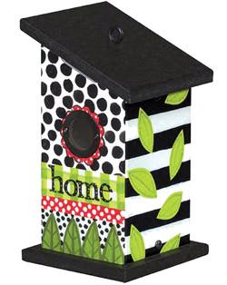 Artful Birdhouse