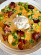 Fully Loaded Potato Soup