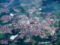 Grecia Costa Rica Town from the Air