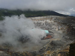 Poas Vulcano Costa Rica