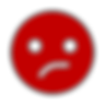 Dark red annoyed emoji face.png
