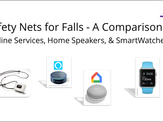 Safety Nets for Falls - A Quick Comparison of Technologies
