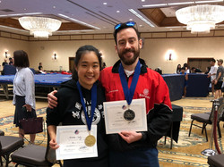 United States Wushu Academy Students take two medals at Sanda competition.