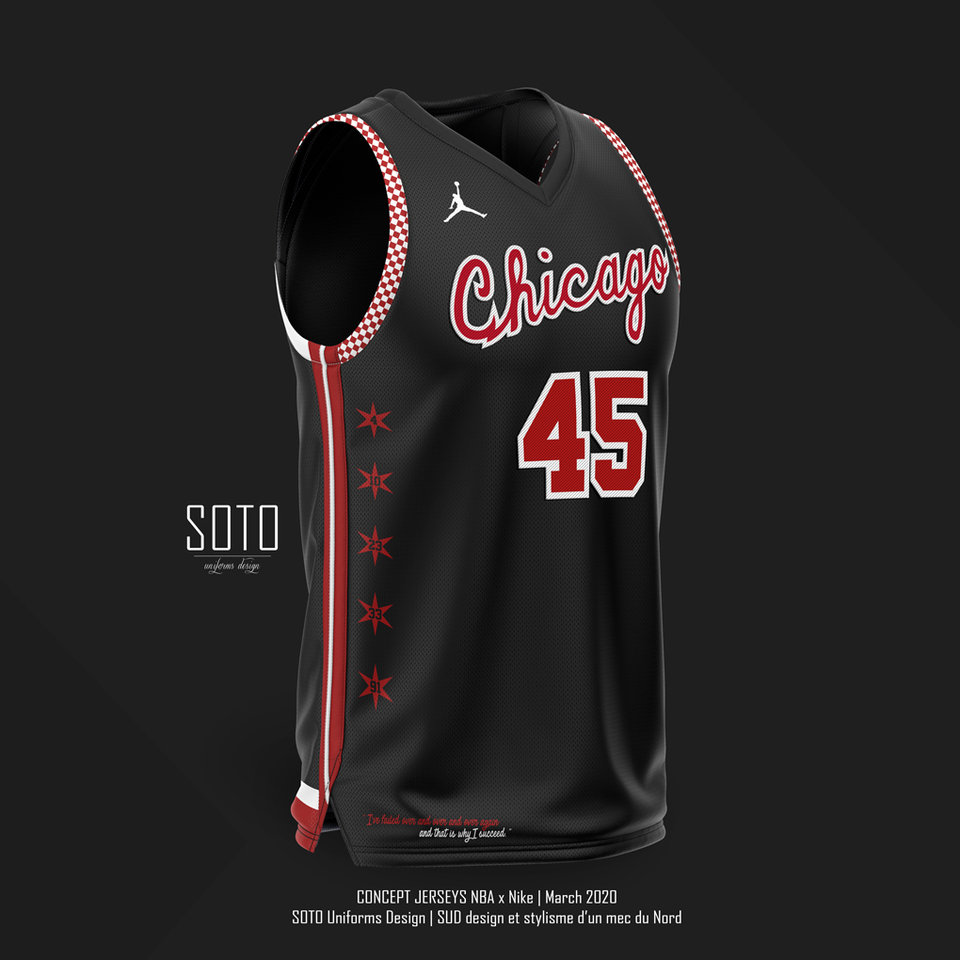 MAILLOT CITY - BULLS by SOTO / concept