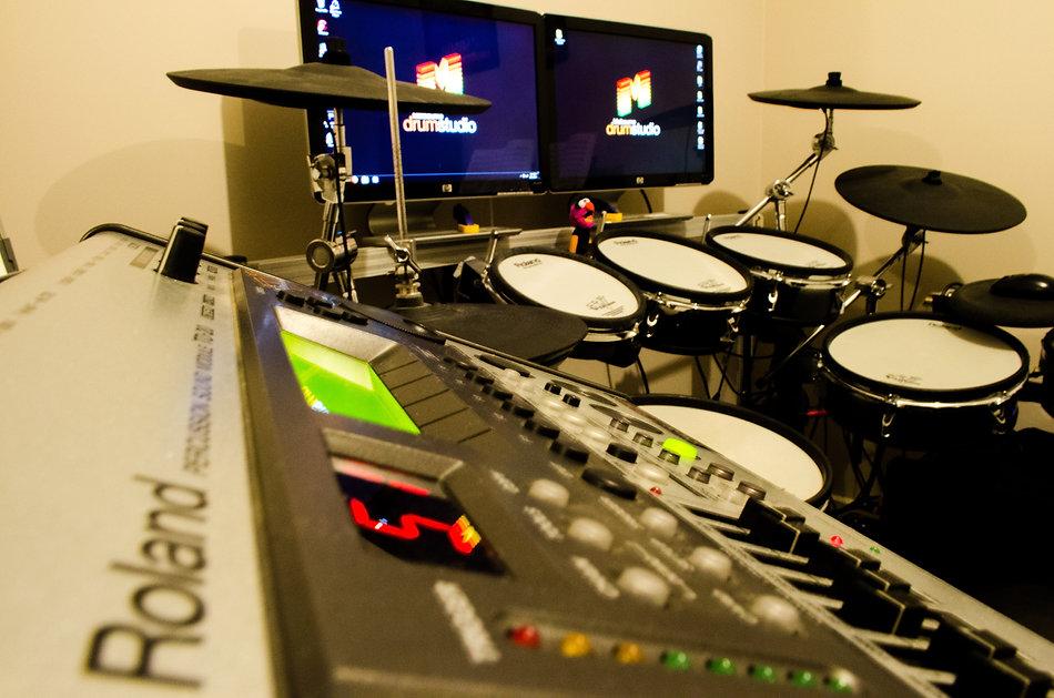 Melbourne Drum Studio gear