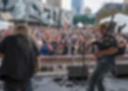 Fed Square Performance