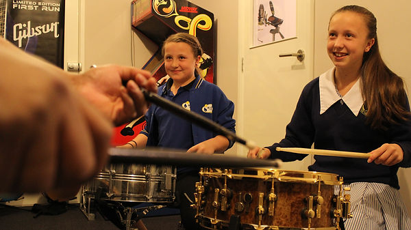 Group drum lessons