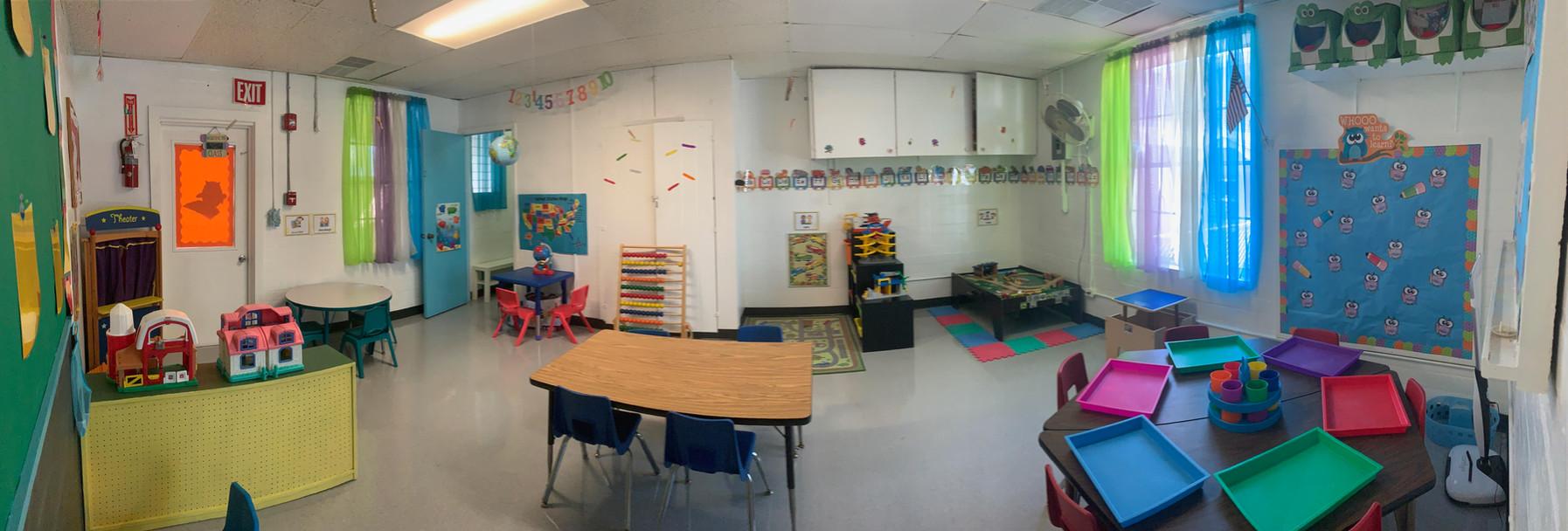 Green Room Preschool Classroom