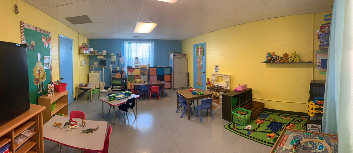 Green Room Preschool Classroom