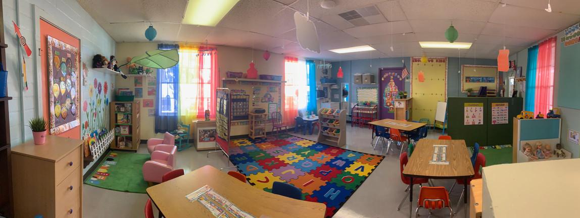 Purple Room VPK Classroom