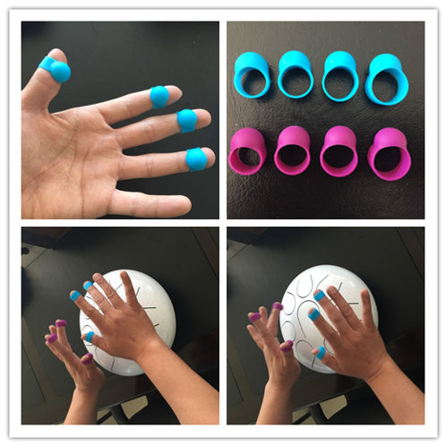 Finger Covers (8 sets) for Steel Tongue Drum/ Handpan