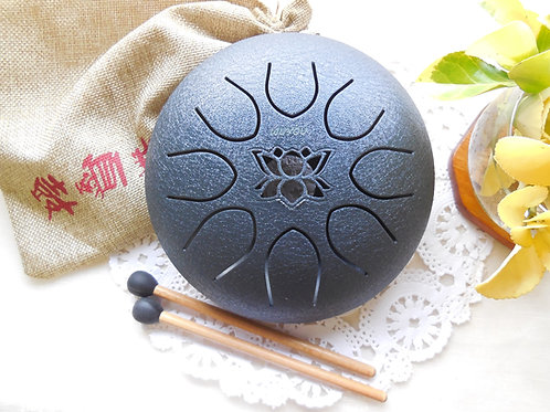 7inch Lotus Steel Tongue Drum
