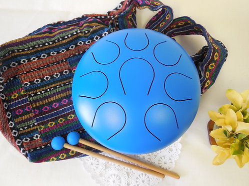 10in Steel Tongue Percussion Drum