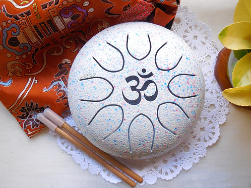 7in OM UFO Steel Tongue Drum
